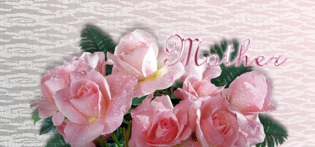 P-202M Pink Roses (Mother-Pink)